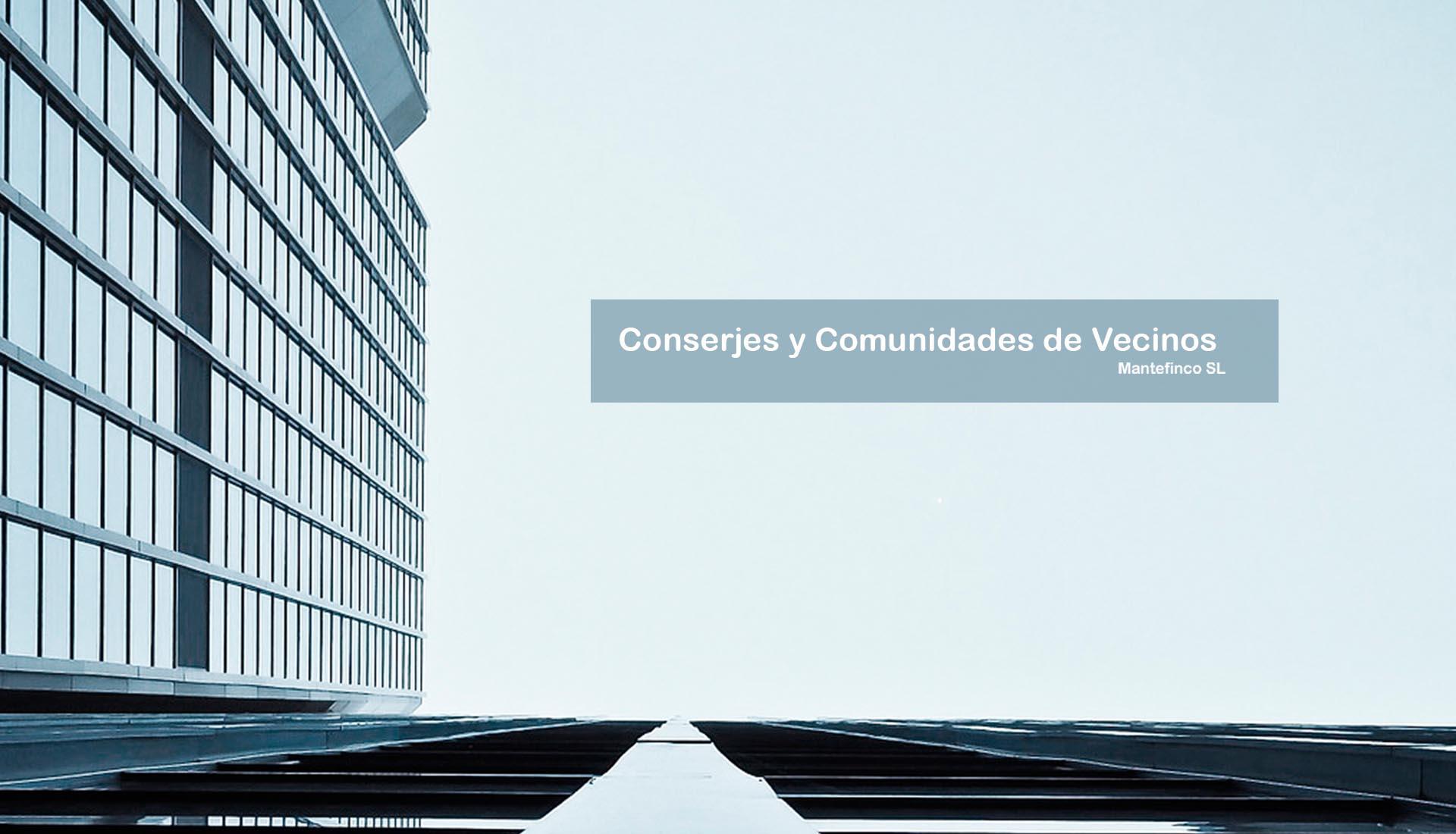 Conserjes y Comunidades de Vecinos